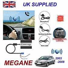 Renault MEGANE Bluetooth HandsFree Phone AUX Input MP3 USB 1A Charger Module 8pn
