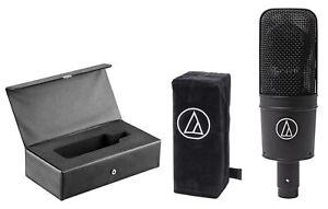 Audio-Technica-AT4033A-B-Studio-Mic-Condenser-Recording-Microphone-Cover-Case