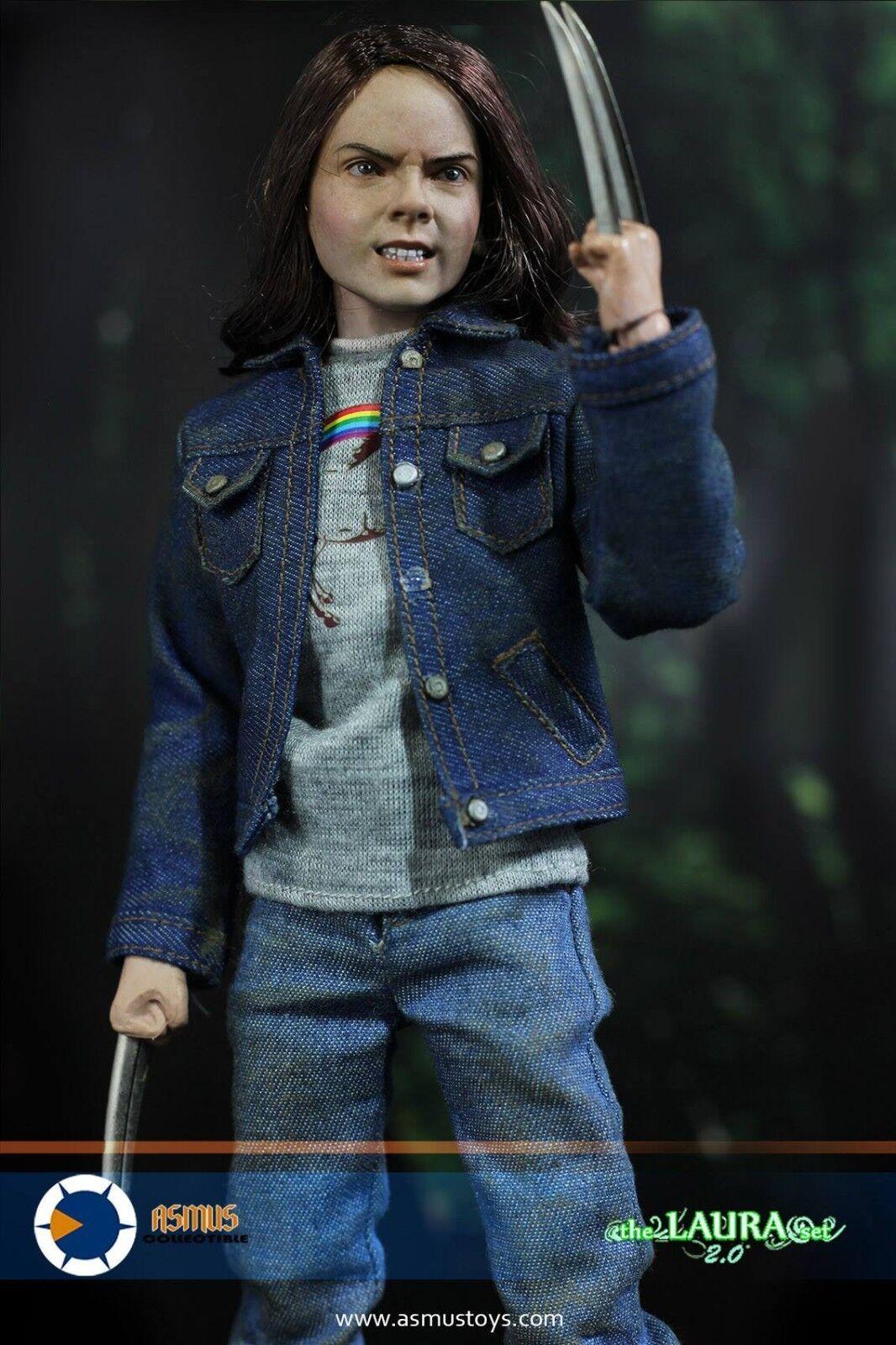 Asmus Toys THE LAURA 2.0 SET +TEENAGER BODY 3.0 +Female Head 1/6 Figure Full SET