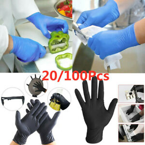 20-100Pcs-Disposable-Rubber-Gloves-Medical-gloves-Nitrile-latex-Thin-Gloves-UKjo