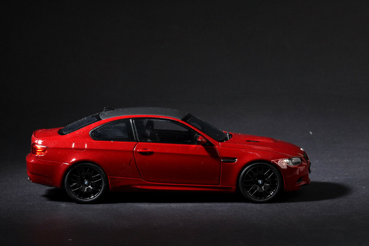 KYOSHO 08734MR BMW M3 Coupe E92 Melboure Red 1 18 Diecast Model