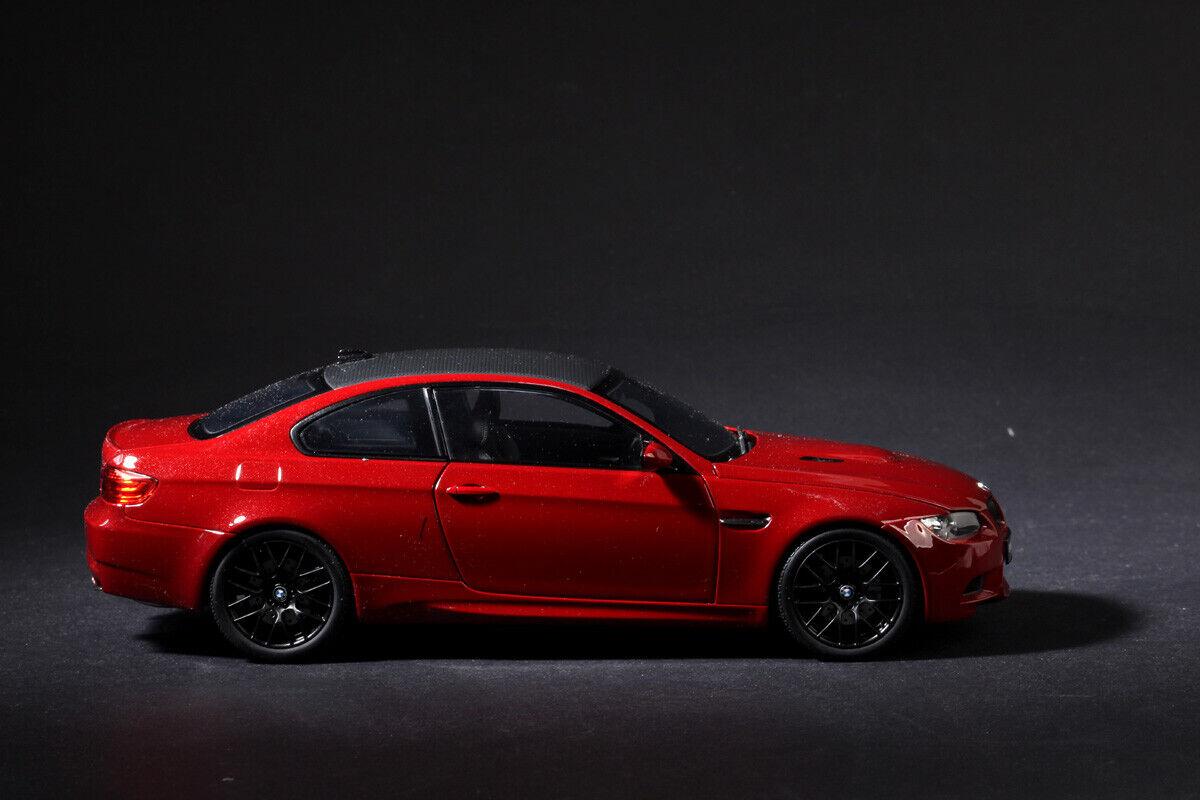 Kyosho 08734MR BMW M3 Coupe E92 Melboure rosso 1 18 Diecast Modelo