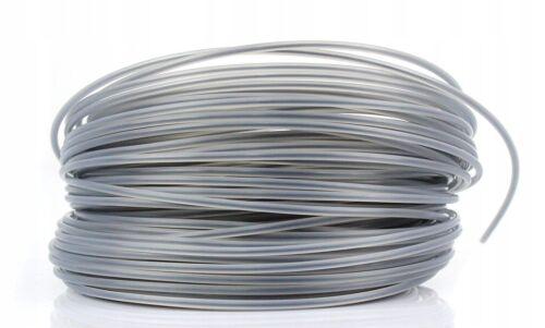 Verstärkt 50m Mähfaden Ersatzfaden 2,4mm Trimmerfaden Rund Freischneider 0,16€//m
