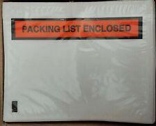 7x 55 Packing Slip Enclosed Envelopes Panel Face 2900 Pack Svd Ma