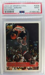2003-Upper-Deck-Magazine-Michael-Jordan-UD8-Perforated-PSA-9-only-10-Higher
