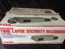 Exxis Time Lapse Recorder Unit Vhs Video Surveillance Security Euc Er0024 New