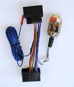 factory radio add a amp amplifier sub interface wire harness inline rh ebay com