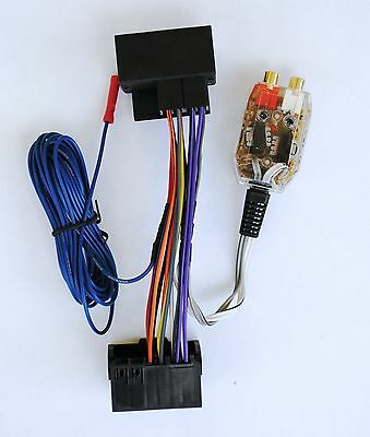 Amplifier Amp Interface Adapter Wiring Wire Harness 1