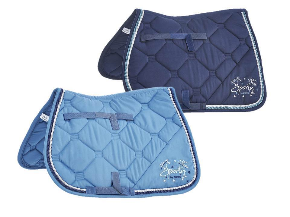 Busse  ldren collection  vi saddle cloths teal or navy, sh, p, vb wb  fashion mall