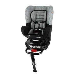 Swivel car seat REVO 360° isofix support leg GR 0+/1 (0-18kg)Silver 979620