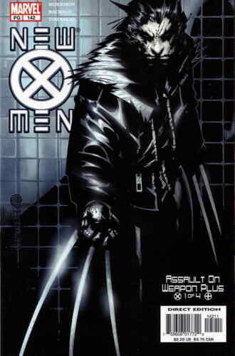 New X-Men #142  Marvel Comic Book