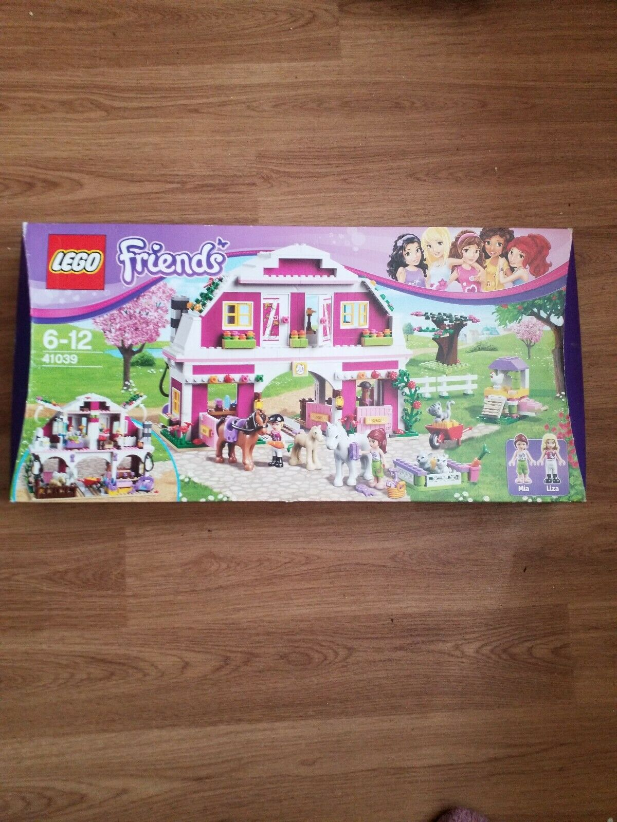 LEGO FRIENDS 41039 SUNSHINE RANCH AGE 6-12 BRAND NEW IN BOX RETIRED SET