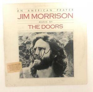 ROBBY-KRIEGER-signed-vinyl-album-AN-AMERICAN-PRAYER-THE-DOORS-PROOF-1