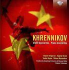 Khrennikov: Violin Concertos Nos. 1 & 2; Piano Concertos Nos. 1 & 2 (CD, Sep-2013, Brilliant Classics)