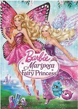 BARBIE MARIPOSA & THE FAIRY PRINCESS New Sealed DVD