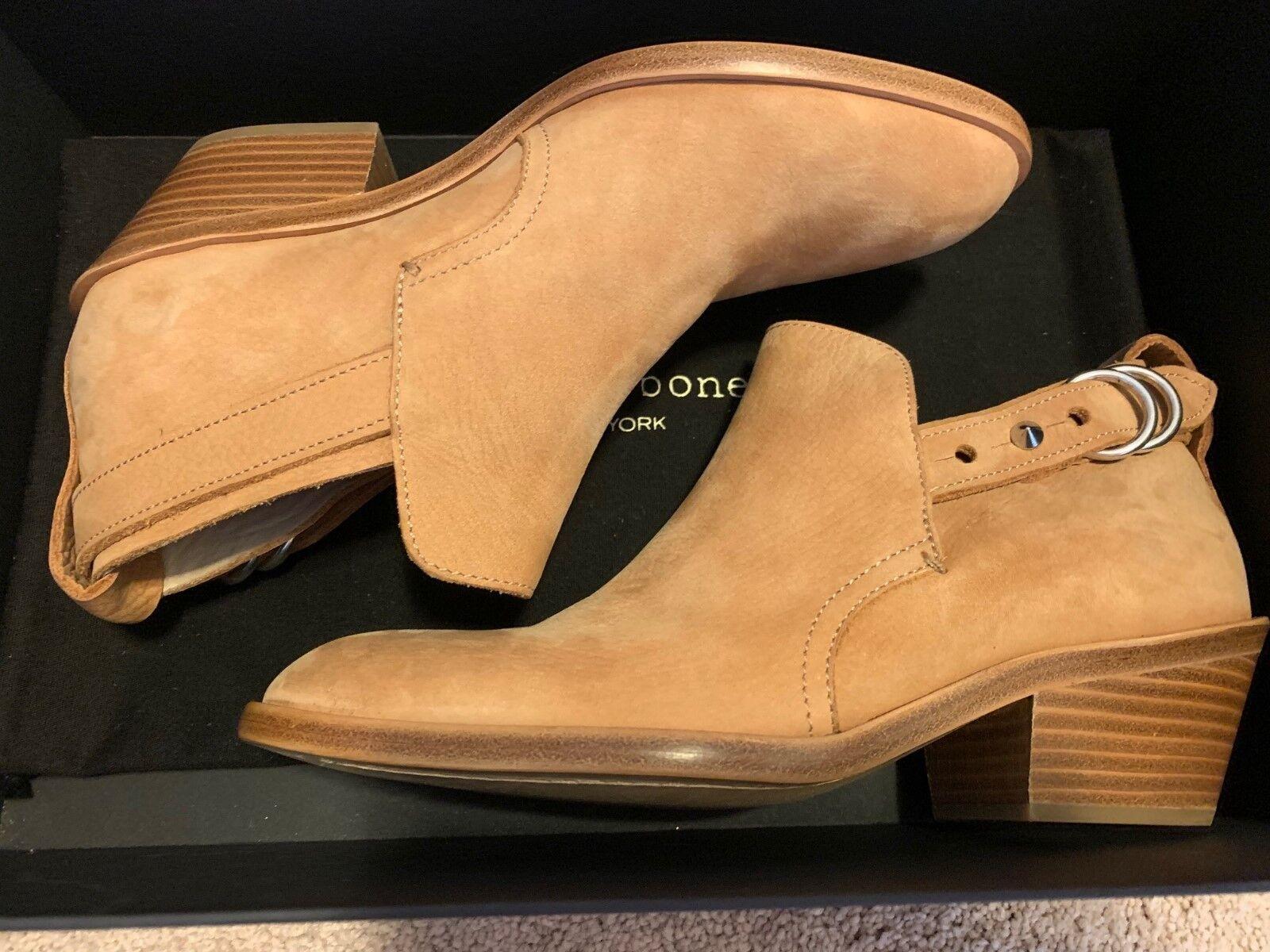 Rag & Bone Sullivan Stiefel Größe 6 36 Tan Nubuck New in Box