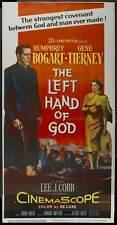 THE LEFT HAND OF GOD Movie POSTER 20x40 Humphrey Bogart E.G. Marshall Lee J.
