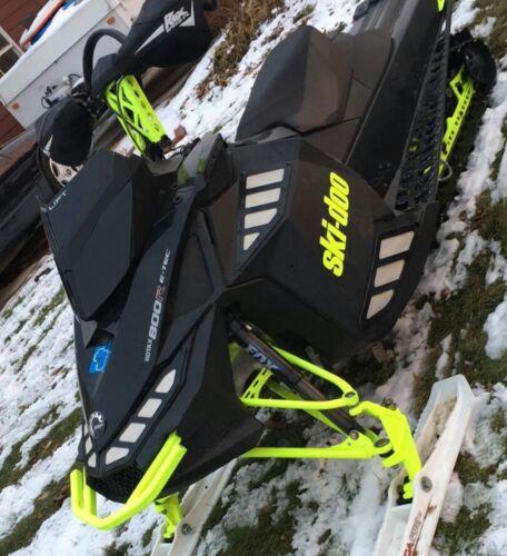 Ultra Low Gloss Black Windshield Fits Ski-Doo XP ~ 213 Parts