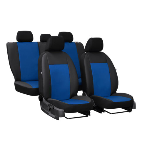 Siège-auto Housses Pour Bleu Set pour Skoda karoq 17-Housses de protection Sitzbezüge Housse De Siège