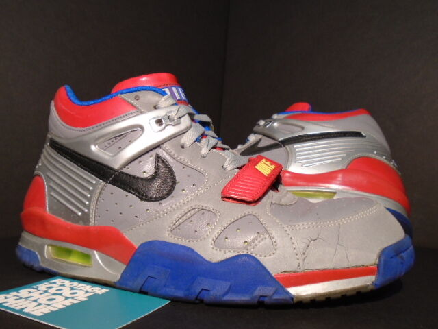 2018 Nike Air TRAINER III 3 Premium TRANSFORMERS 1 SILVER BLACK RED PURPLE 8 New shoes for men and women, limited time discount