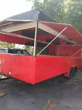 Ready For Conversion 2002 Food Concession Trailerempty Food Trailer For Sale In
