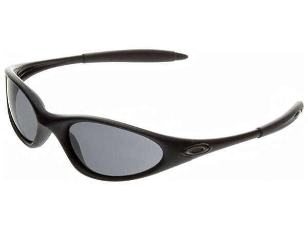 5fe11f01dd Oakley Minute Sunglasses Matte Black grey Broken Arm for sale online ...