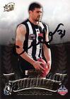 ✺Signed✺ 2010 COLLINGWOOD MAGPIES AFL Premiers Card CHRIS DAWES