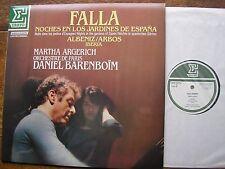 NUM 75316 FALLA: NIGHTS IN THE GARDENS  ARGERICH / O de PARIS / BARENBOIM  NM