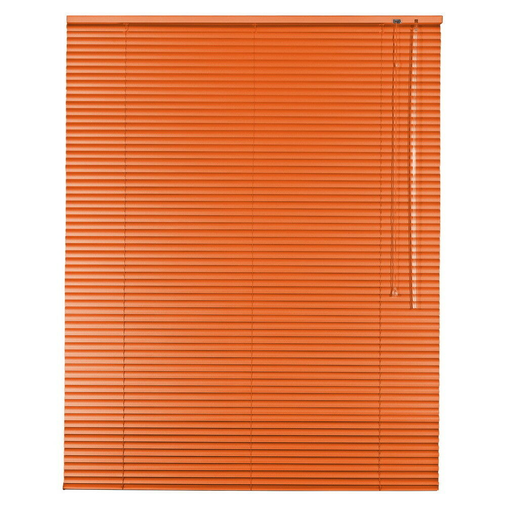 Aluminium Jalousie Alu Jalousette Jalusie Fenster Tür Rollo - Höhe 250 cm Orange | Modern Und Elegant In Der Mode