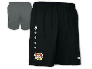 JAKO-Bayer-04-Leverkusen-Home-Short-schwarz-B04-Fussball-Hose-Innenslip-S-XXL