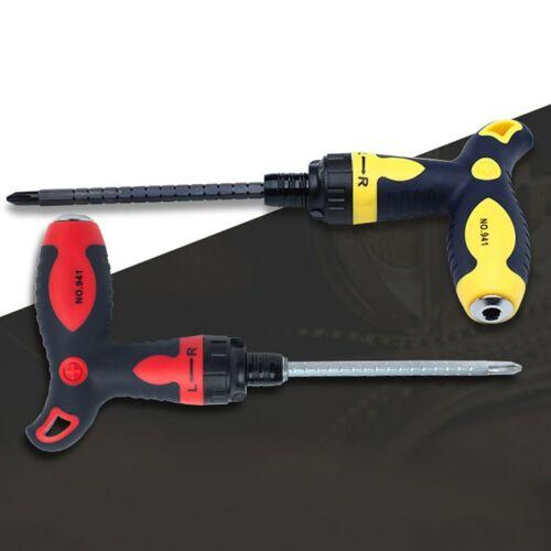 Neu Schraubendreher Anti-Rutsch T-Griff Ratsche Schraubendreher Handwerkzeuge