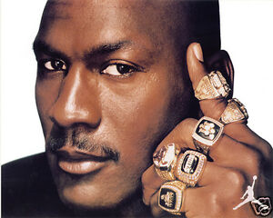 Image Is Loading MICHAEL JORDAN CHICAGO BULLS RINGS 8 X 10