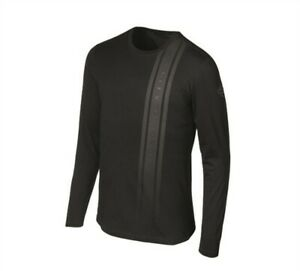 manches hommes longues 96675 réfléchissantes davidson shirt rayures Harley pour et Xxl à Noir Tee 19vm THIxqv