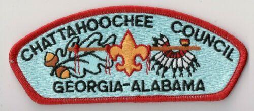 Scout Stuff Back Georgia Alabama Chattahoochee Council S-4 CSP BSA