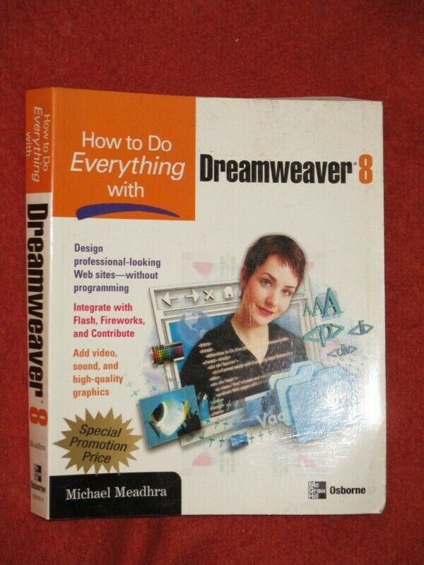 How to everything with Dreamweaver 8