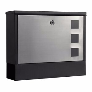 Milkcan Wb58 304 Stainless Steel Mount Letterbox Mailbox