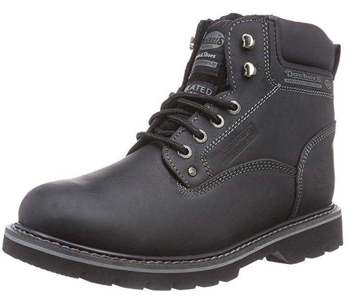 Dockers Herren Schuhe Stiefel Stiefel Winterschuhe  23DA104-400 (Schwarz 100)