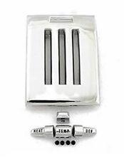 NEW! 1964-1966 Ford MUSTANG Heater Dash Trim Plate & Knob set Chrome