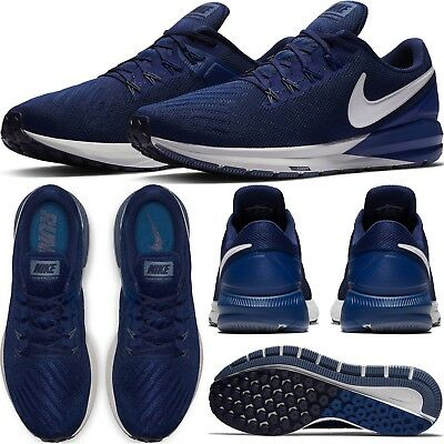 Nike Air Zoom Structure 22 Men's Running Shoes Lifestyle Comfy Sneakers Width 4E | eBay