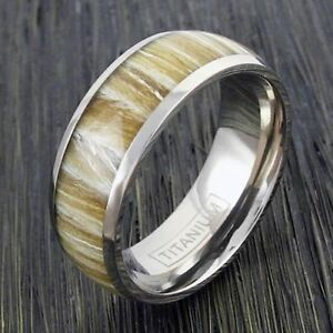 Image is loading Silver Titanium Ring Light Blonde Wood Grain Inlay Silver Titanium Ring Light Blonde Wood Grain Inlay Wedding Band  . Inlay Wedding Bands. Home Design Ideas