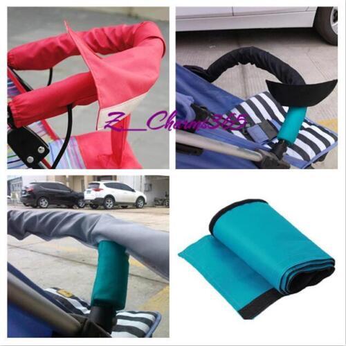 Oxford Fabric Handle Bar Cover For Baby Pram Stroller Pushchair Bumper Bar ONE