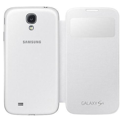 new product ecba6 ce083 Samsung S-view Flip Cover for Galaxy S4 White