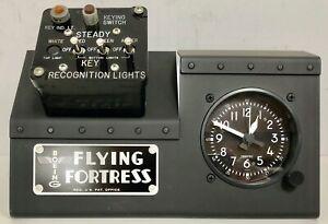 IFF-Friend-or-Foe-Identification-Switch-Box-Display-WWII-Aviation-B-17-OFF-0112