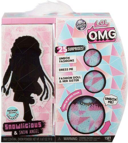 LOL Surprise OMG Snowlicious /& Snow Angel Fashion Doll
