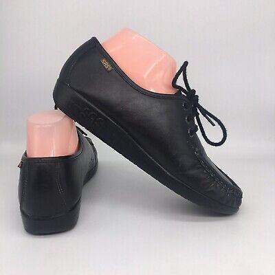 SAS Siesta Black Lace Up Tripad Comfort