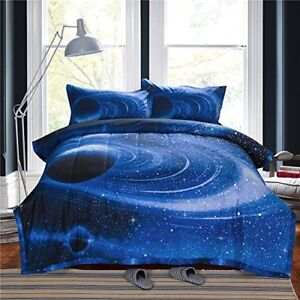 Kids Milky Way Comforter Set Full Size Outer Space Bedroom
