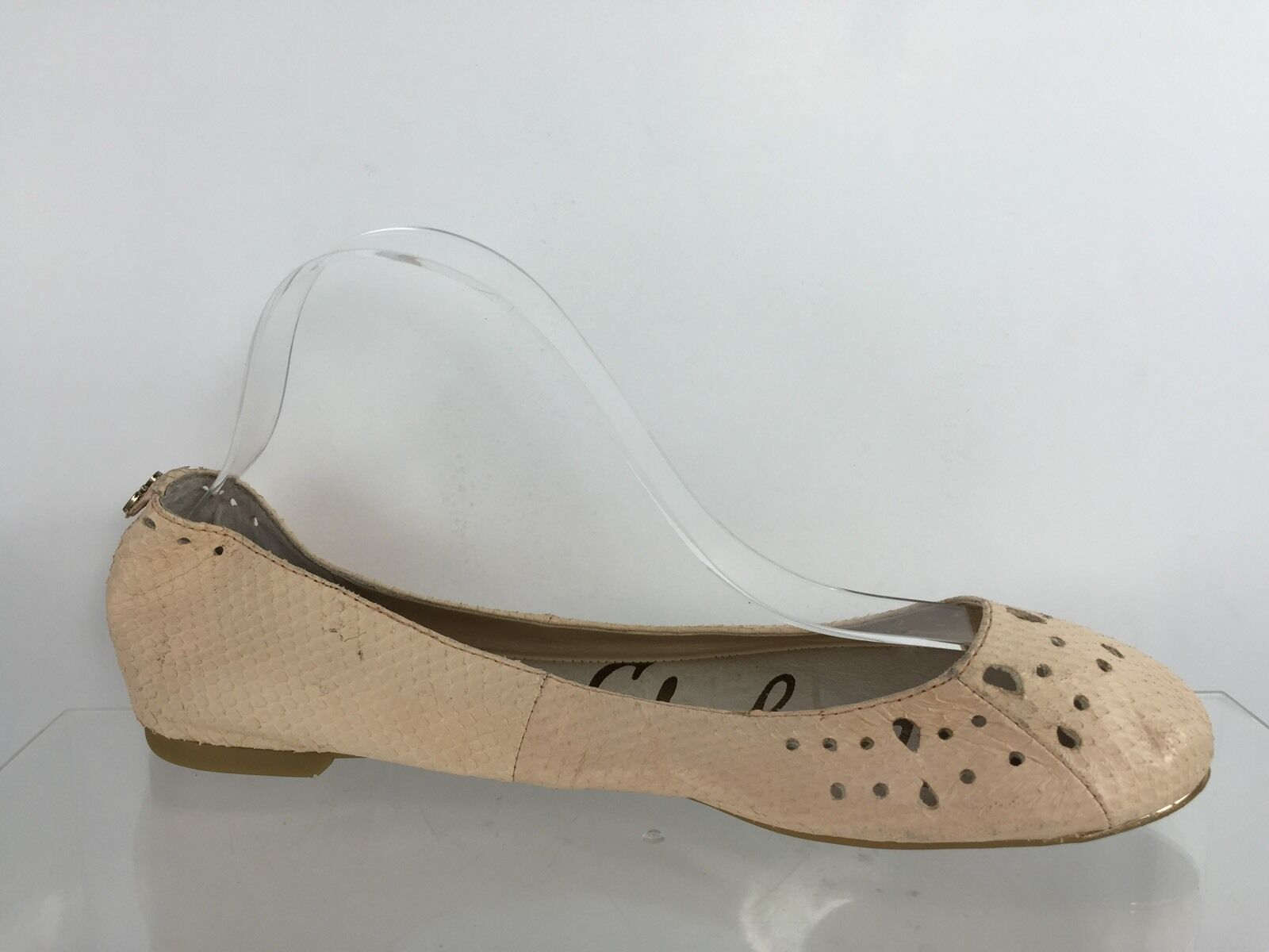 Sam Edelman Womens Pale Pink Leather Flats 8.5 M M M dd43a2