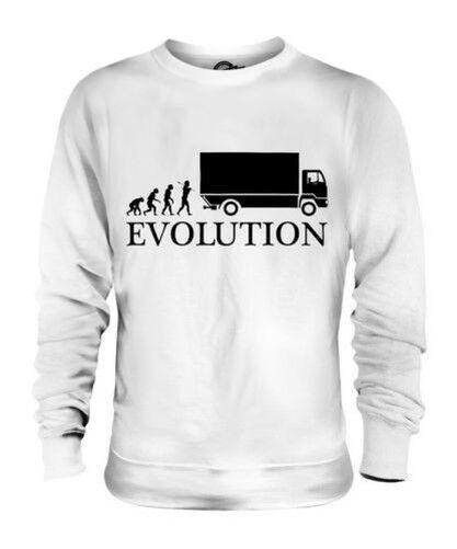Autista di Camion Evoluzione Umana Unisex Maglione  Herren Damenschuhe Idea Regalo Damenschuhe