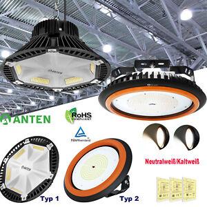 UFO LED Hallenbeleuchtung Industrielampe Highbay Hallenstrahler Werkstattleuchte