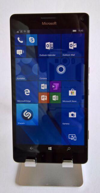 Microsoft  Lumia 950 XL,schwarz, 3GB RAM,32GB Speicher, 20 MP-Kamera, Win 10
